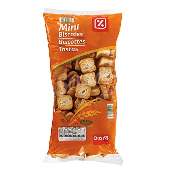 DIA Mini biscotte paquete 350 grs Paquete 350 grs