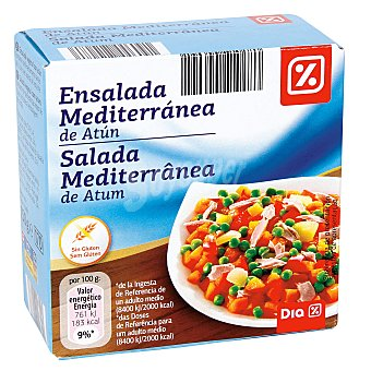 DIA Ensalada mediterránea de atún Lata 135 gr