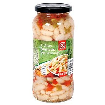 DIA Combinado de alubias blancas con verduras Frasco 400GR
