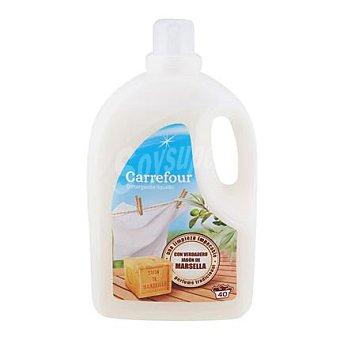 Carrefour Detergente líquido de marsella 40 lavados
