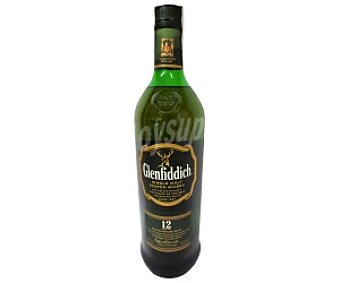 GLENDFIDICH Whisky Single Malt 12 Años Botella de 1 Litro