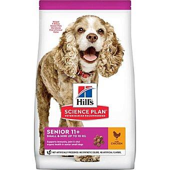 Hill's Science Plan Pienso para perros Senior 11+ Hills Science Plan Small & Miniature pollo y pavo 1,5 kg 1,5 kg