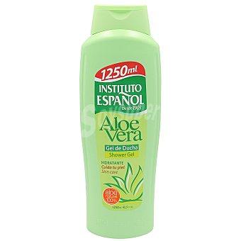 Instituto Español Gel para baño o ducha hidratante con aloe vera 100% natural 1250 ml