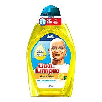 Don Limpio Gel limpiador multiusos limón fresco 885 ml