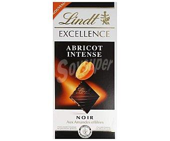 Lindt Excellence Chocolate negro con almendras y albaricoque Tableta 100 g