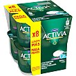 Activia 0% natural 8 unidades de 125 g Activia Danone
