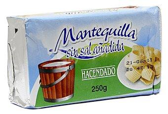 Hacendado Mantequilla sin sal Pastilla 250 g