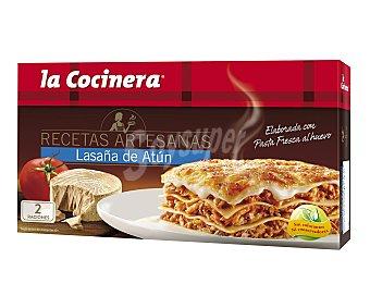 La Cocinera Lasaña de Atún La Cocinera 530 gr