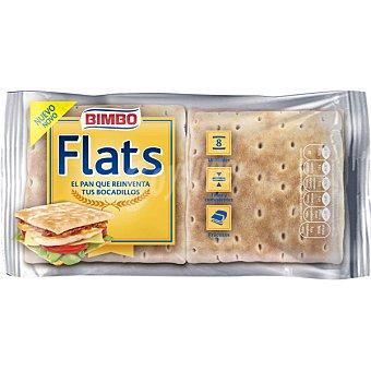 Bimbo Flats pan ideal para bocadillos fino y consistente 8 unidades Bolsa 375 g