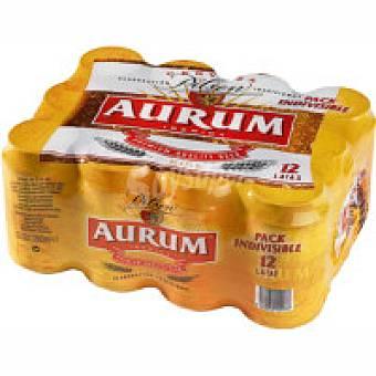 Aurum Cerveza Pack 12x33 cl