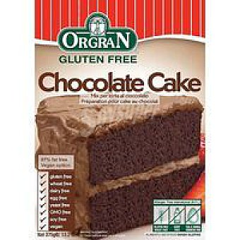 Orgran Chocolate Cake mix Caja 375 g