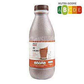 Eroski Basic Batido de cacao Botella 1 litro