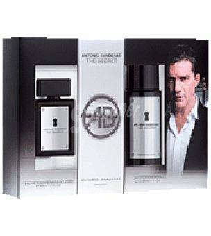 Antonio Banderas Estuche Colonia Secret spray 50ml + desodorante 150ml. 1 ud