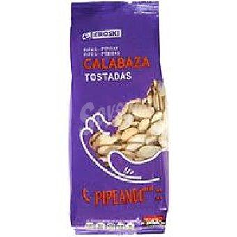 Eroski Pipas de calabaza tostadas Bolsa 200 g