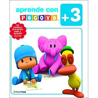 Cuaderno de actividades Aprende con Pocoyó +3 años