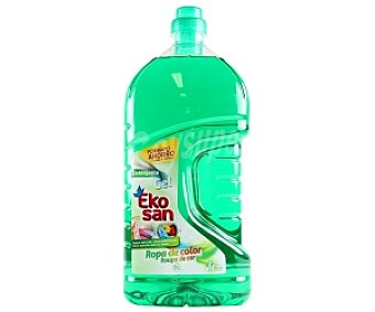 EKOSAN Detergente líquido ropa colar 3L