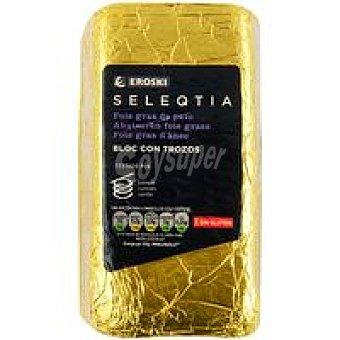 Eroski Seleqtia Bloc foie gras de pato Eroski 100 g