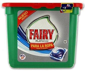 Fairy Detergente Platinum en cápsulas para lavadora 27 C