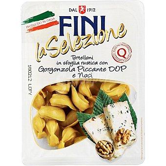 Fini la selezione Tortelloni con gogonzola, picante y nueces Envase 250 g