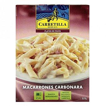 Carretilla Macarrones carbonara Envase 325 g