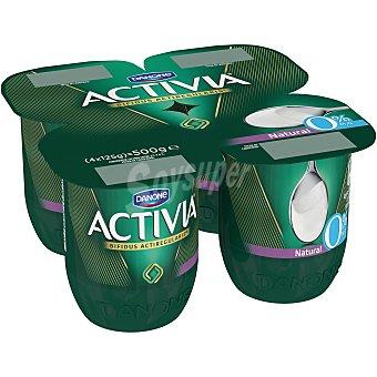Activia Danone Activia 0% natural 4 unidades de 125 g