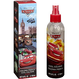 DISNEY2 Cars Colonia fresca sport infantil Spray 200 ml