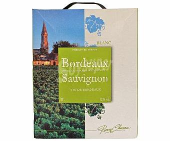 Pierre Chanau Vino Blanco Bordeaux Sauvignon Bib 3 Litros