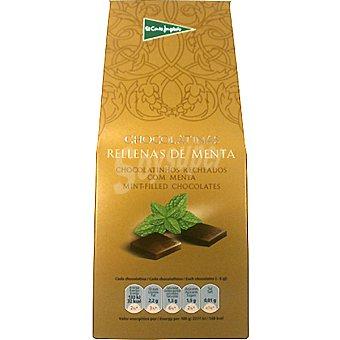 EL CORTE INGLES Chocolatinas rellenas de menta estuche 200 g