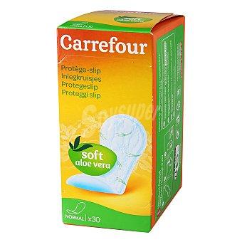 Carrefour Protegeslip normal aloe vera 30 ud