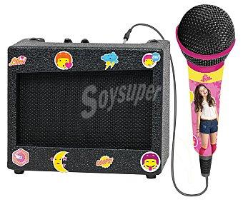 Disney Soy Luna Karaóke portátil con amplificador y micrófono Soy Luna DISNEY.