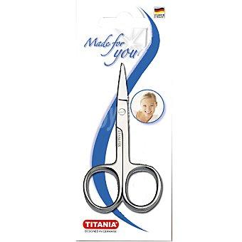 TITANIA Tijeras cortacutículas blister 1 unidad