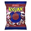 Caramelo con palo y chicle sabor cola Kojak 7 ud 7 ud Fiesta