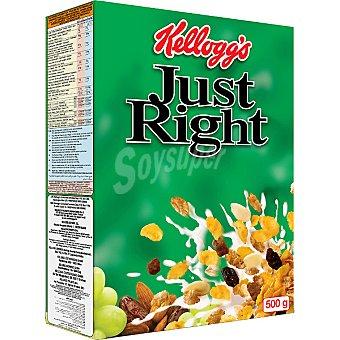 KELLOGG'S Just Right Cereales de desayuno Paquete 500 g