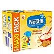 Papilla infantil desde 6 meses 8 cereales con galleta maria sin azucares añadidos sin aceite de palma 2400 G 2400 g Nestlé