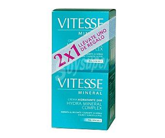 VITESSE Mineral Crema facial hidratante 24 horas especial para piel sensible 50 mililitros