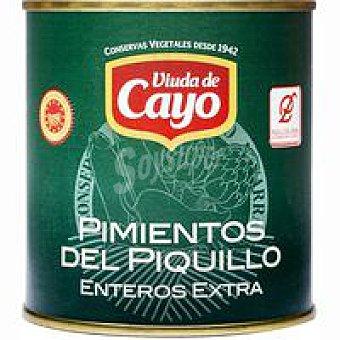 D.O. Lodosa VIUDA DE CAYO Pimiento de piquillo Lata 180 g
