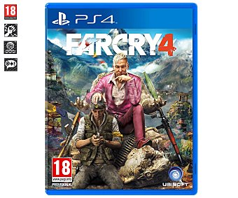 ACCIÓN Videojuego Far Cry 4 para PS4. Género: Acción, Aventura, Primera persona (fps). Recomendación por edad pegi: +18. 1 Unidad 1u