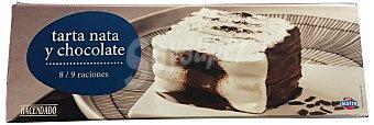 Hacendado Helado tarta nata chocolate 1 l