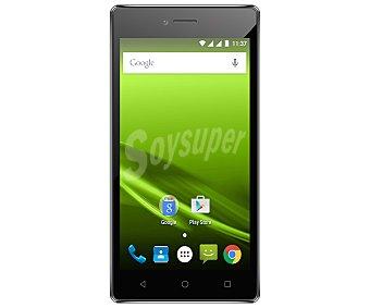 """Selecline Teléfono móvil libre 870712 (producto económico alcampo), procesador: Quad-Core, Ram: 1GB, almacenamiento: 8GB ampliable mediante microsd, pantalla: 5"""", cámara: 2 Mpx, Dual-sim, Android 5.1"""