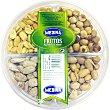 Surtido selección de 4 frutos secos con avellanas, almendras, cacahuetes y pistachos bandeja 400 g Aperitivos Medina