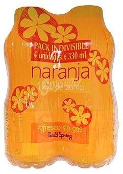 Gold Spring Naranja sin gas 12% zumo Botellin pack 4 x 330 - 1320 cc