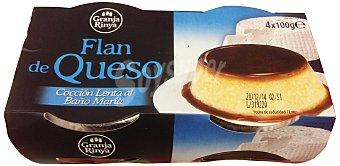 Granja rinya Flan queso Pack 4 x 100 g - 400 g