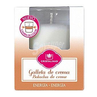 Cristalinas Vaso perfumado bicolor galleta de crema 1 unidad