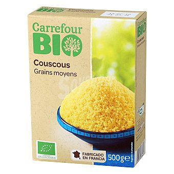 Carrefour Bio Cuscús grano mediano ecológico 500 g
