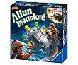 Juego de mesa Alien invasion, de 1 a 6 jugadores, con luz y sonido, RAVENSBURGER.  Ravensburger