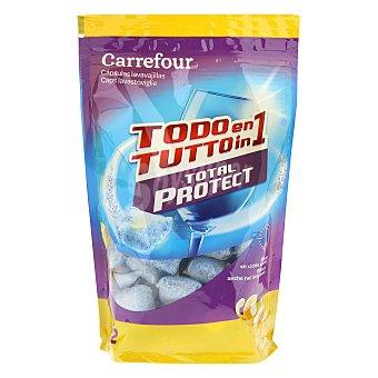 Carrefour Lavavajillas protección total cápsulas 32 ud