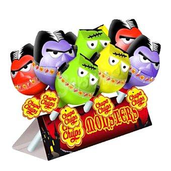 Chupa Chups Caramelos con palo Monsters 9 ud