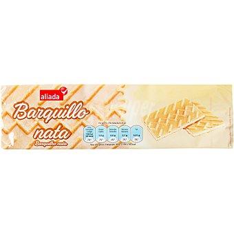 Aliada Galletas de barquillo rellenas de nata Paquete de 150 g