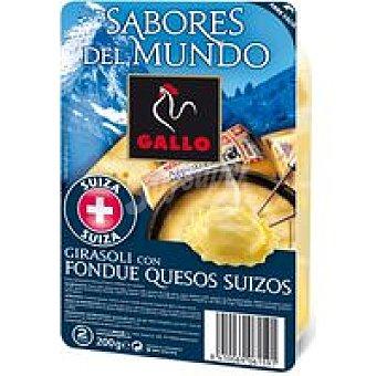 Gallo Girasoles de quesos suizos Sabores del mundo Bandeja 200 g