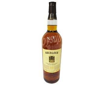ABERLOUR Whisky Single Malt 10 Años Botella de 1 Litro